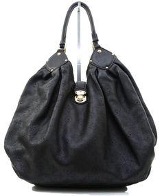 Louis Vuitton Black Leather Monogram Mahina Tote Bag XXL Gold HW DoPEEK! #LV #Designer #LouisVuitton #Shopper #Tote #Handbag #Luxury #Shopper #EveSher #Consignment Shop: http://ebay.to/1xmFPe6