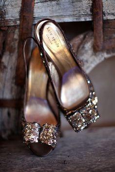 kate spade sparkly high heels