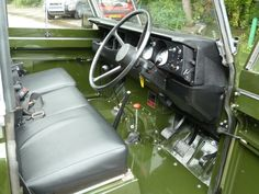 1982 Series 3 Land Rover Interior