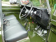 1982 Series 3 Land Rover Interior