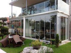 SUNFLEX: SF30 Marquise, Modern House Design, Pergola, Summer Garden, Winter Garden, Windows, Balcony, Pictures, Outdoor Pergola