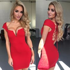 This little red number just landed! Shop: WWW.LUSHFOX.COM