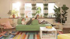 Ai primit deja #CatalogulIKEA2018? Dacă locuiești în București sau împrejurimi, vei primi un exemplar gratuit la ușa ta, până pe 7 septembrie. Dacă încă este pe drum, îl poți răsfoi online, de aici: www.IKEA.ro/Catalogul_IKEA_2018 Ikea 2018, Couch, Rugs, Modern, Furniture, Spring, Home Decor, Farmhouse Rugs, Settee