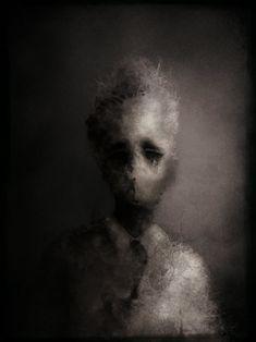 by Eric Lacombe Arte Horror, Horror Art, People Illustration, Graphic Design Illustration, Eric Lacombe, Classical Art, Pulp Art, Gothic Art, Dark Art