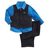 Nautica Baby Boys' 4-Piece Suit Set
