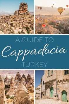 A travel guide to Cappadocia, Turkey highlighting the small towns and villages you need to visit along the way! Turkey Inspiration The post Beautiful Other-Worldly Places to Visit in Cappadocia, Turkey appeared first on Woman Casual - Travel Turkey Destinations, Travel Destinations, Places To Travel, Places To Go, Visit Turkey, Cappadocia Turkey, Equador, Voyage Europe, Destination Voyage