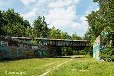 stillgelegte S-Bahn Brücke bei Berlin