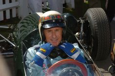 """Jackie Stewart in the Tyrrell 006 