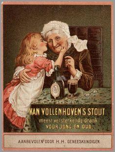 Gezondheidsbier - Bier met geneeskrachtige werking werd aanbevolen voor o.a. kraamvrouwen.