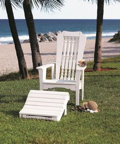Uwharrie Chair 6012-044 Hatteras Outdoor Rocking Chair Mauve for seating that accommodates guests of all walks of life for rest and relaxation. Comes in mauve, white, and black. http://www.air-n-water.com/product/6012-044.htm
