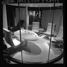Gorgeous retro-futuristic office (1964)