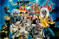 Iron Maiden Eddie | Iron Maiden's Eddie Album Covers