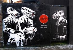 Zabou, Street Art #Zabou #Streetart #Privacy
