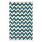 Chevron rug.  I just ordered one like this for my den!  Can't wait. Etsy!
