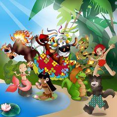 Brazilian Folklore by Sakuragichan.deviantart.com on @deviantART