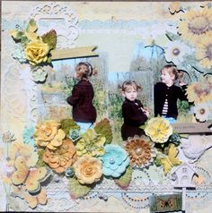 Sun Kissed Prima Layout- Scrapbook.com