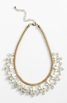 Oh la la! Affordable statement necklace.