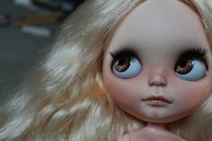 OOAK custom tbl/fake Blythe doll Adelaide by by outonalimb1