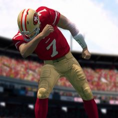 Colin Kaepernick in Madden25. #Kaepernicking in #Madden25. #49ers