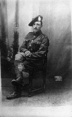 Corporal George Thompson, 2nd Battalion, King's Own Scottish Borders  WWI