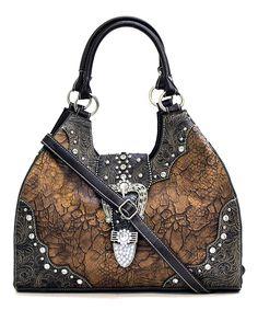 Bronze Gabriela Shoulder Bag