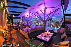 Top 10 Rooftop Bars in Bangkok