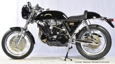 Vincent Motorcycles like the Black Shadow were legends in their day.  Eye-popping Pictures, Specs, History & more...