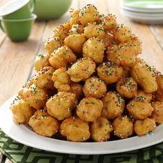 Italian Holiday Cookies Recipe | Taste of Home Recipes. Strufoli. What!! Theses look sooo good!
