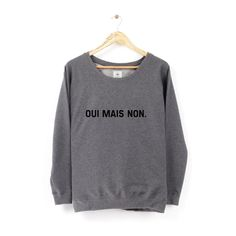Sweat Oui mais non.