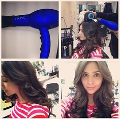 Camila Banus from Days of Our Lives loving our Ionic Boost hair dryer 💜👍 Soap Opera Stars, Casting Pics, Days Of Our Lives, Styling Tools, Hair Dryer, Hair Beauty, Hairstyles, Life, Haircuts