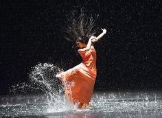Free rain: Pina Bausch's Vollmond at Sadler's Wells - in pictures Pina Bausch, Contemporary Dance, Modern Dance, Dance Art, Ballet Dance, Bolshoi Ballet, Tap Dance, Dance Project, Age Of Aquarius
