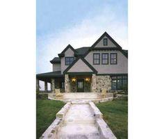 European Style House Plan - 4 Beds 5 Baths 4746 Sq/Ft Plan #410-166
