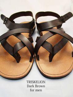 Sandals for men,Leather Greek sandals,Brown sandals Men Sandals, Greek Sandals, Brown Sandals, Leather Sandals, Leather Men, Soft Leather, Greek Men, Designer Sandals, Natural Brown