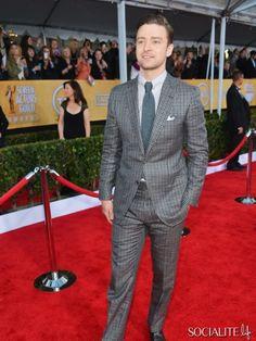 Justin Timberlake At The 2013 Annual Screen Actors Guild Awards