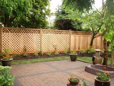 Backyard Fences Ideas find this pin and more on modern contemporary fence ideas Image Of Backyard Privacy Fences