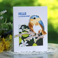 Hello You, Bird Cards, Better Together, Pattern Paper, One Color, Make You Smile, Illusions, Virginia, Tweet Tweet