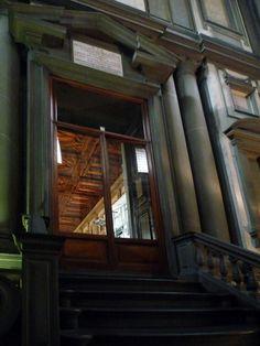 Michelangelo, Laurentian, Looking Up To Library
