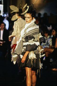 John Galliano Spring 1996 Ready-to-Wear Fashion Show - Chandra North
