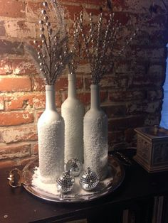 bling out wine bottles - Google Search