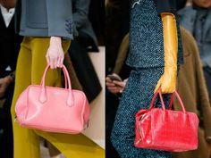 Расцветка модных сумок осень-зима 2015-2016