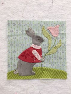 Block 25, Sunday Best by Bunnyhill Designs of the Splendid Sampler quilt