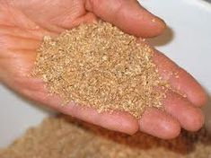 own bokashi grains for composting and rice serum for fertilizing.