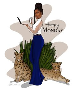 Black Love Art, Black Girl Aesthetic, Fashion Illustration Sketches, Eyes On The Prize, Dope Art, Black Queen, Girl Day, Natural Hair Styles, Monday Blessings