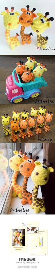 Funny Giraffe Amigurumi Pattern