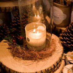 Linnea's Lights Candle, Fir