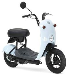 Suzuki Choinori iceblue Scooter Motorcycle, Moto Bike, Electric Scooter With Seat, Suzuki Cars, Retro Motorcycle, Real Steel, Motor Scooters, Futuristic Cars, Bicycle Design