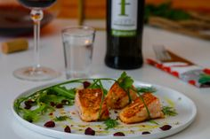 #olioflaminio #olio #flaminio #trevi #umbria #italy Ingredienser: Salmalaks Tranebær Hasselnøtter Dill Gressløk Roccula salat Salt Pepper Ch...