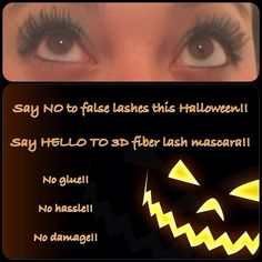 No need for falsies this Halloween!! Younique 3D fiber lash mascara, get the look without the hassle!! https://www.youniqueproducts.com/SamanthaHarmsk