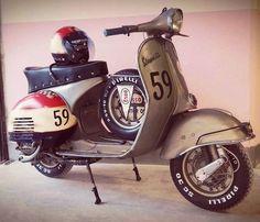 Piaggio Vespa, Lambretta Scooter, Vespa Scooters, Best Scooter, Scooter Bike, Custom Vespa, Custom Bikes, Vespa Px 125, Vespa Sprint