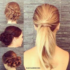Beautiful wedding hair inspiration!!